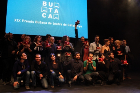 The winners of the 19th edition of the Butaca Awards (by P. Francesch)