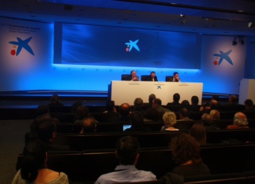 The presentation of CaixaBank's 2012 results on Friday in Barcelona (by J. Molina)