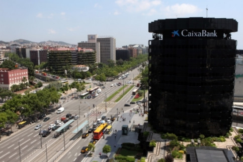 CaixaBank headquarters, in Barcelona (by ACN)