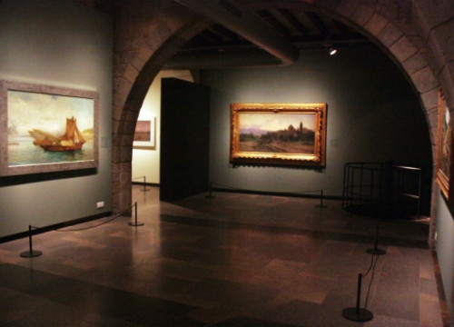 An exhibition in CaixaForum Girona (by M. López)