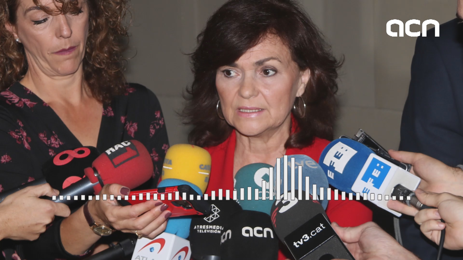 "Carmen Calvo claims ""there is no possibility"" to hold an independence vote either in Spain or in other ""comparable democracies"""