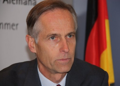 Walther von Plettenberg, the new Managing Director of the German Chamber of Commerce in Spain (by M.J. Fidalgo)