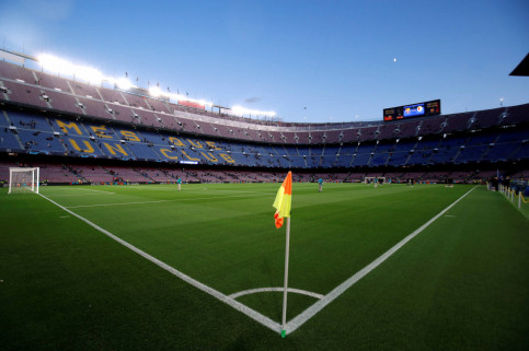 FC Barcelona's Camp Nou stadium (by REUTERS/Albert Gea)