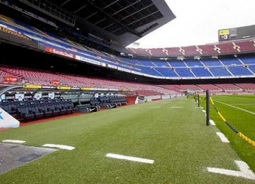 An image of Barça's stadium, the Camp Nou (by FC Barcelona)