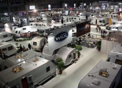 The 'Caravanning' International Fair organised a month ago (by L. Vilaró)