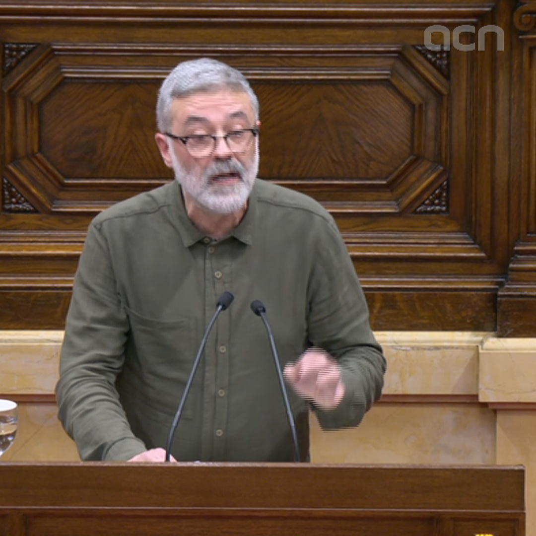 Far-left CUP asks parliament to ratify Torra as president