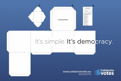 The post-card of CataloniaVotes.eu (by Diplocat)