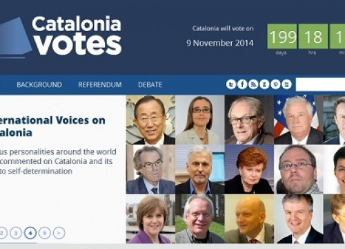 A caption from the CataloniaVotes.eu web site (by Diplocat)