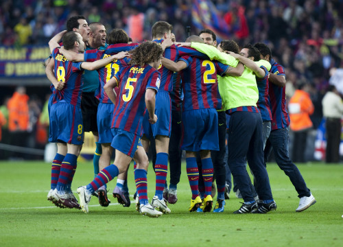 Barça was officially crowned 2009-10 La Liga Champions