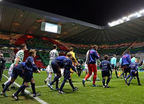 Last season, Celtic and Barça already faced each other at Glasgow's stadium (by FC Barcelona)