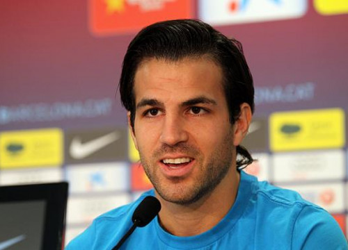 Cesc Fàbregas defended Leo Messi during Wednesday's press conference (by FC Barcelona)