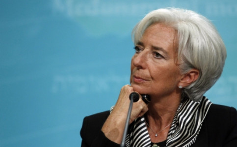 Christine Lagarde, who leads the IMF, a few months ago (by ACN)