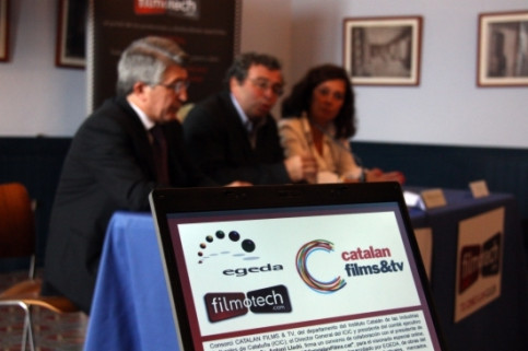 The new project's official presentation during the Sitges Film Festival (by ACN)