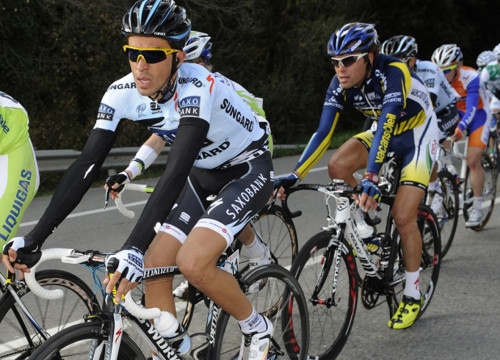 Alberto Contador (left) won this year's edition of the 'Volta' (by ACN)
