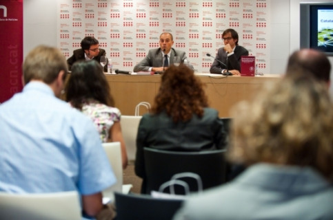 The Catalan News Agency has been presented in Madrid