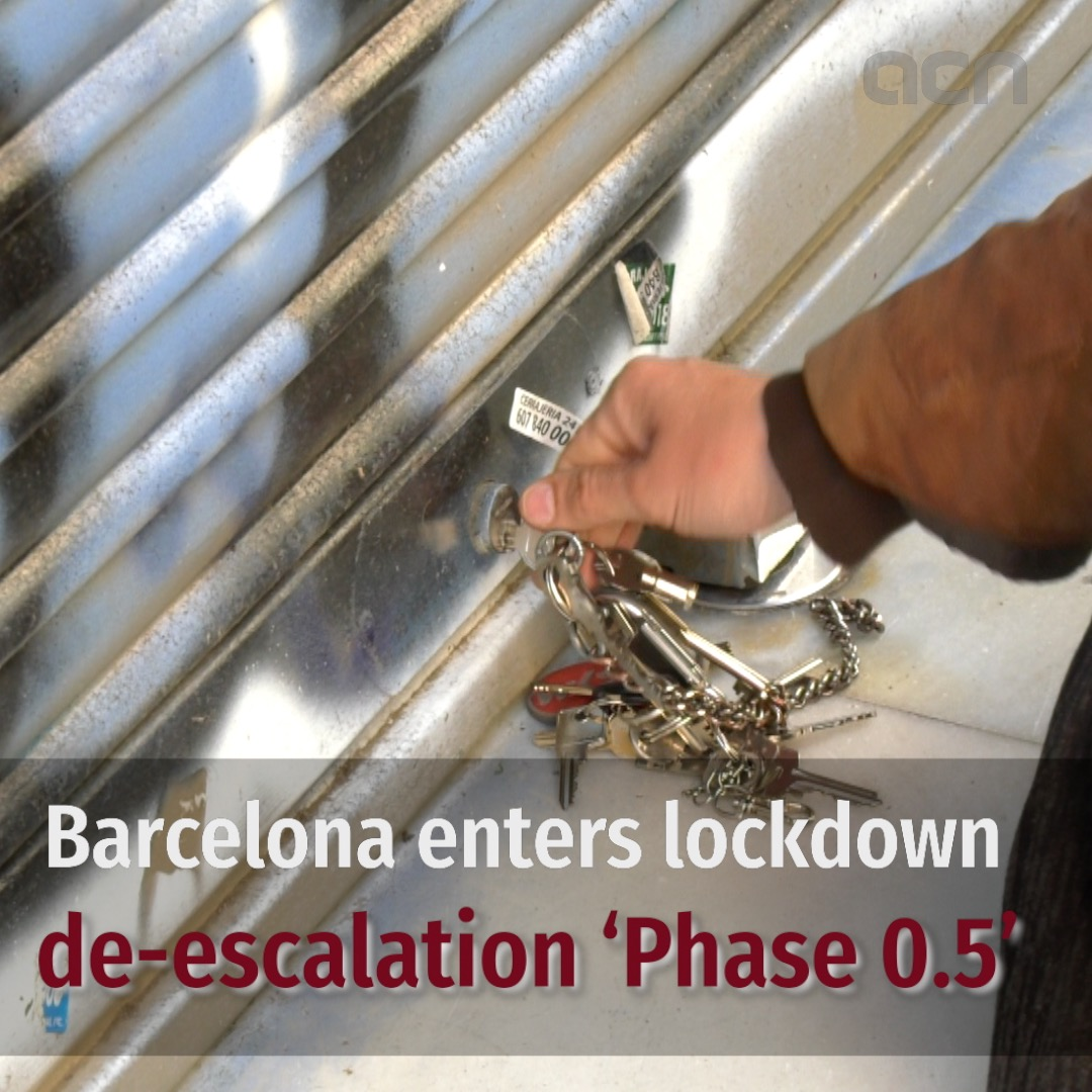 Barcelona enters 'Phase 0.5'