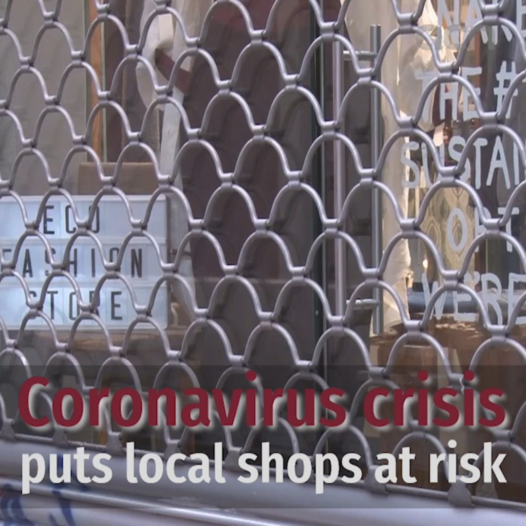 Local shops at risk due to confinement measures