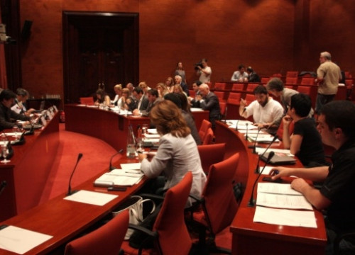 The Catalan Parliament's Committee that approved the final draft of the Consultation Votes bill (by P. Mateos)