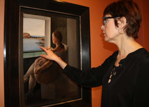 'Figure in profile' at the Dalí Museum in Figueres (by ACN)