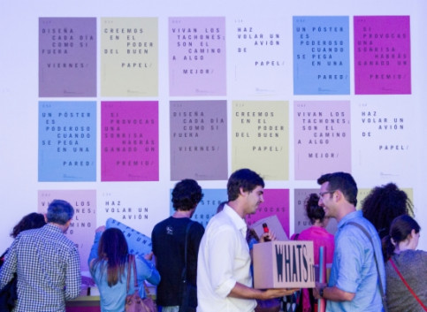 Participants at the Barcelona Design Week's kick off event (by BDW / ACN)