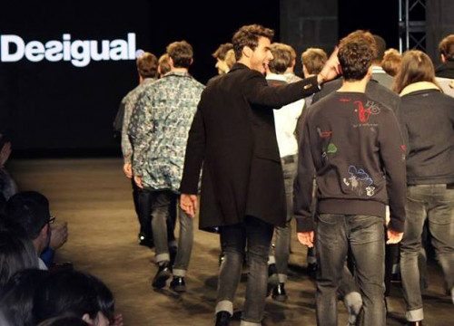 The Desigual catwalk (by Harneet Bahal)