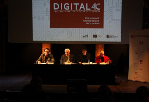 The presentation of the Digital 4C conference (by P. Cortina)