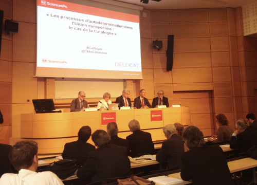 An image from the conference at Sciences Po (by Diplocat)