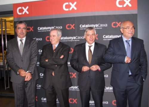 CatalunyaCaixa new executive team (by E. Escolà)