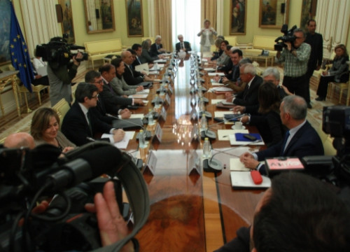The meeting of Education representatives from the Autonomous Communities and the spanish Minister in Madrid (by R. Pi de Cabanyes)