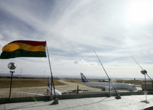 El Alto International Airport, near La Paz, is managed by Sabsa (by G. Brito / Reuters)