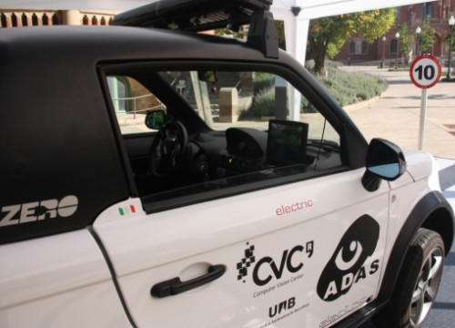 The UAB's electric car (by E. Rosanas)