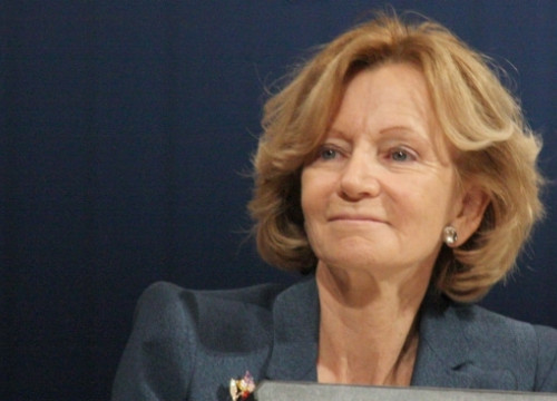 Spanish Vice President for Economy, Elena Salgado (by ACN)