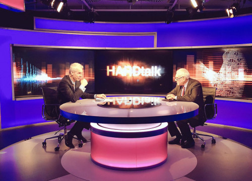 The Catalan foreign minister, Ernest Maragall, being interviewed in the BBC (by @exteriorscat)