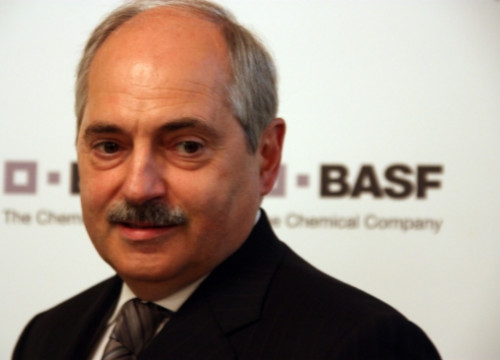 Erwin Rauhe, CEO of Basf's Spanish division (by P. Mateu)