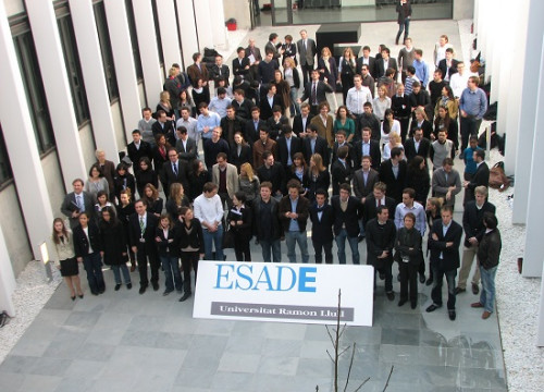 The first operational day of ESADE's Creapolis campus in Sant Cugat del Vallès (Greater Barcelona), in 2009 (by ACN)