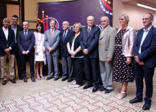 The management of the 2014 ESC Congress in Barcelona (by ACN)