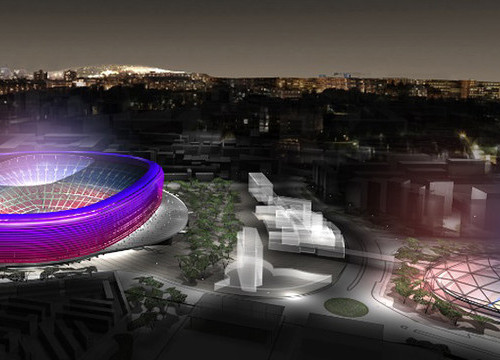 The new Camp Nou and Espai Barça (by FC Barcelona)