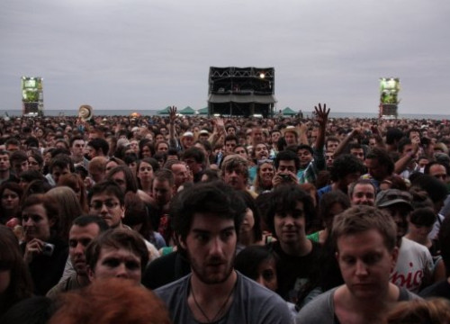 One of the Primavera Sound's main stages moments before the start of a concert this 2011 (by P. Cortina)