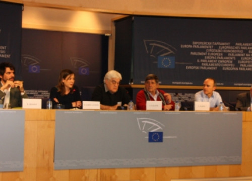 The event at the European Parliament (by A. Segura)