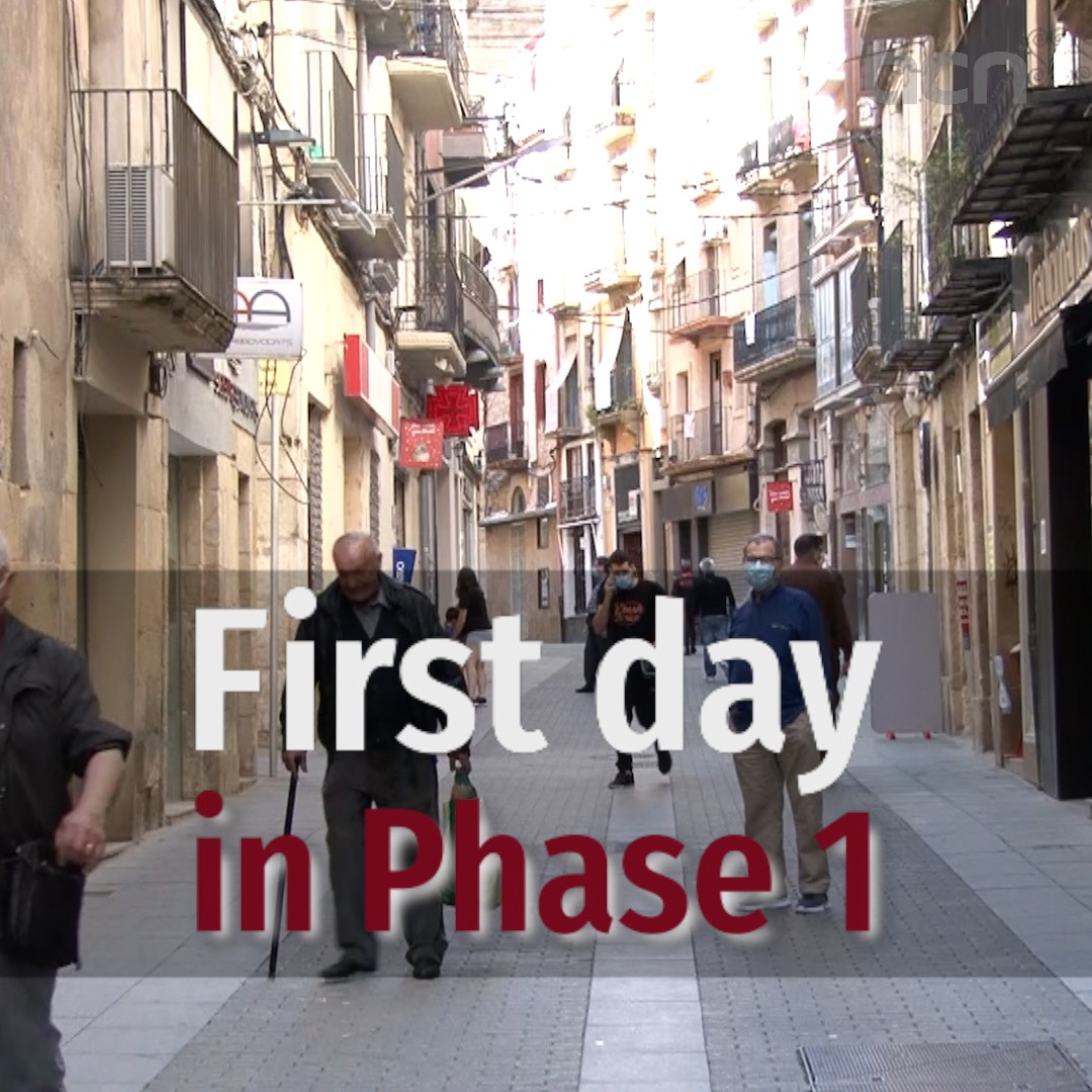 First day in Phase 1
