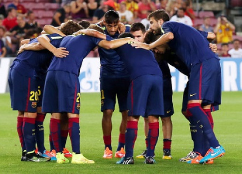 Barça face a crucial game on Tuesday evening against Ajax (by FC Barcelona)