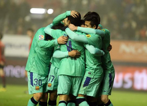 Barça players won Osasuna and will play against Real Madrid (by FC Barcelona)
