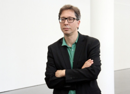 MACBA's new Director, Ferran Barenblit (by P. Francesch)