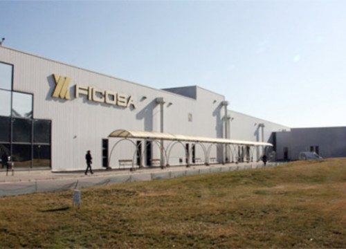 Ficosa's main factory in Mollet, in Greater Barcelona (by ACN)
