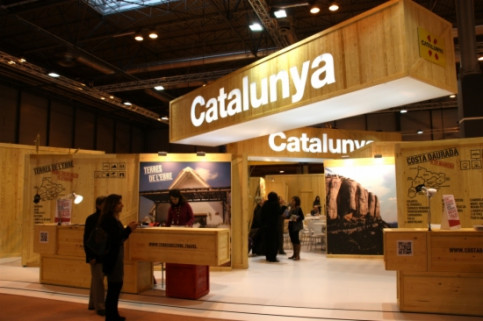 Catalonia's stand in the tourism fair FITUR (by M. Alcolea)