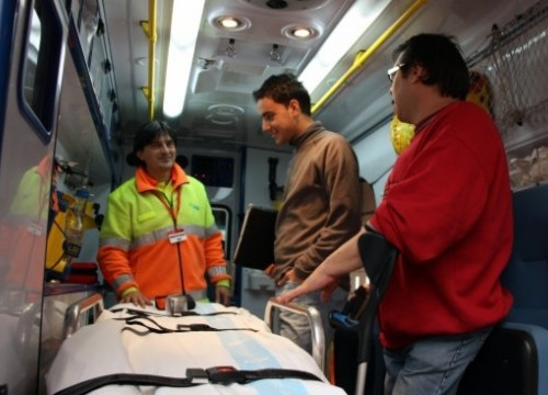 Health Transport Technician is one of the degrees offered within the vocational training system (by ACN)