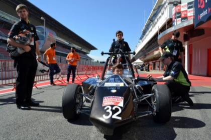 Participants of the Formula Student 2012 (by J. Pujolar)