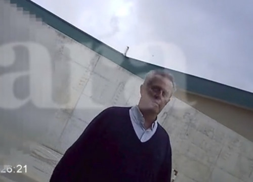 Screenshot of a leaked video of former home affairs minister Joaquim Forn in jail (published by Ara newspaper)
