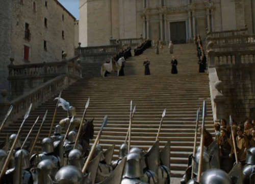 Not many people know that a scene of Game of Thrones was filmed in Girona (by ACN)