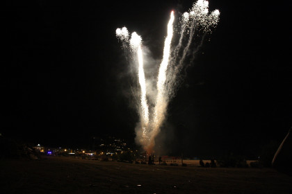 Fireworks go off for Sant Joan on June 23 2016 (by Lourdes Casademont)